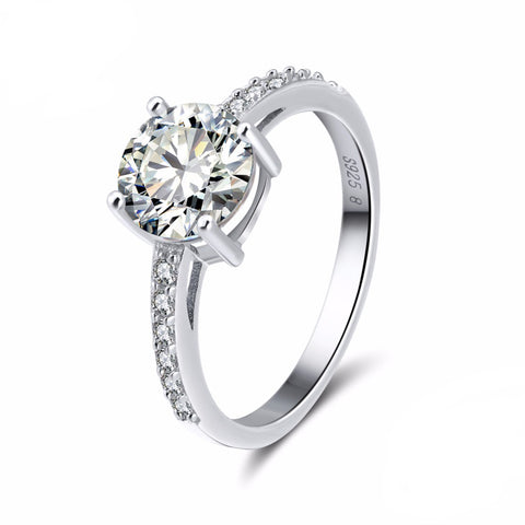 Sparkly Solitaire Ring