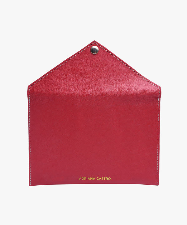 Love Letters Medium Envelope in Leather