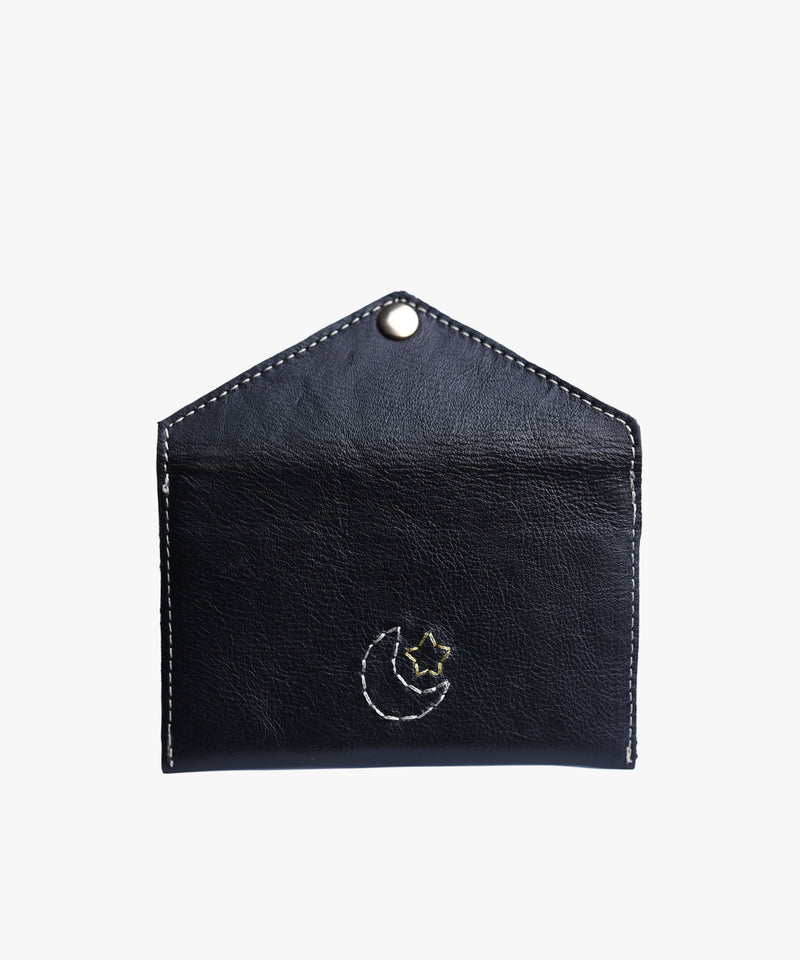Love Letters Mini Card Case in Leather
