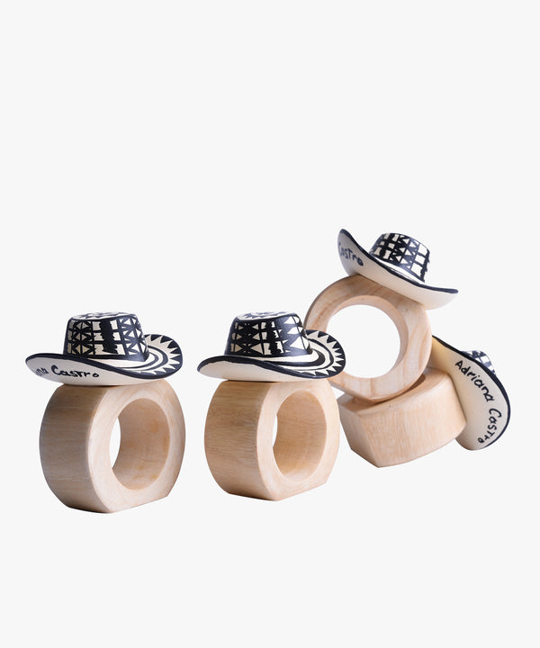 Alejo Napkin Rings Set of 4