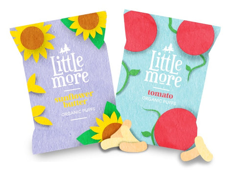 Tips For Beach Days With Babies -  Littlemore Organic Snack Puffs