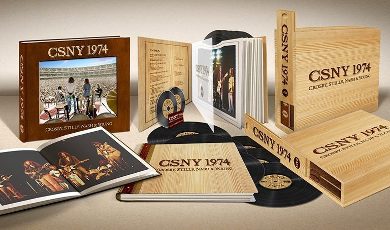 CSNY 1974 LIMITED EDITION BOX SET