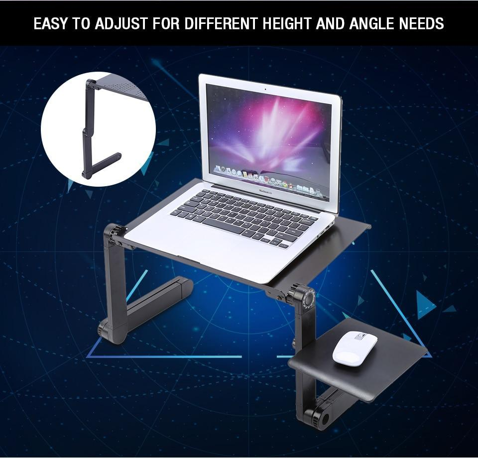 Adjustable Folding Portable Laptop Desk - Etrendpro