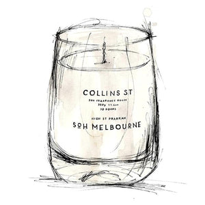Collins Street | Luxury Candle Large 350g