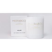 Load image into Gallery viewer, Meeraboo white matte jar candle and gift box
