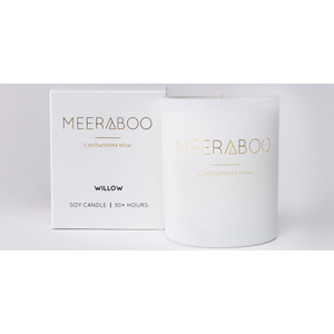 Meeraboo white matte jar and gift box