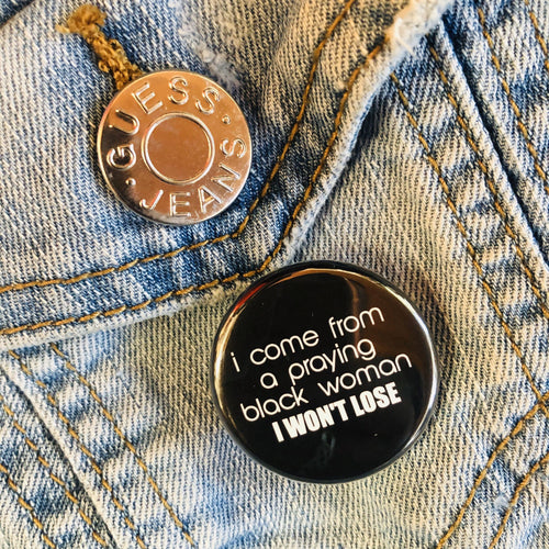 I Won't Lose Button - Culture Vibes