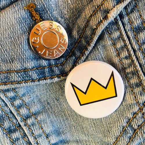 Crown Button - Culture Vibes
