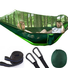 Laden Sie das Bild in den Galerie-Viewer, 【 Free Shipping】LockMesh+ Camping Netted Hammock (Maximum Load 300kg!!)