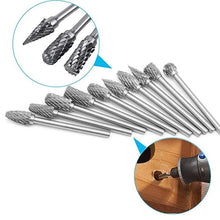 Laden Sie das Bild in den Galerie-Viewer, Rotary Grinder Burr Bits(10 PCS/SET)-BUY 2 FREE SHIPPING