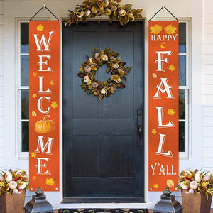 Halloween door couplet ghost festival couplet outdoor decoration