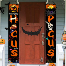 Laden Sie das Bild in den Galerie-Viewer, Halloween door couplet ghost festival couplet outdoor decoration