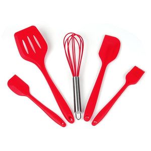 Heat Resistant Baking Utensil Tool Set