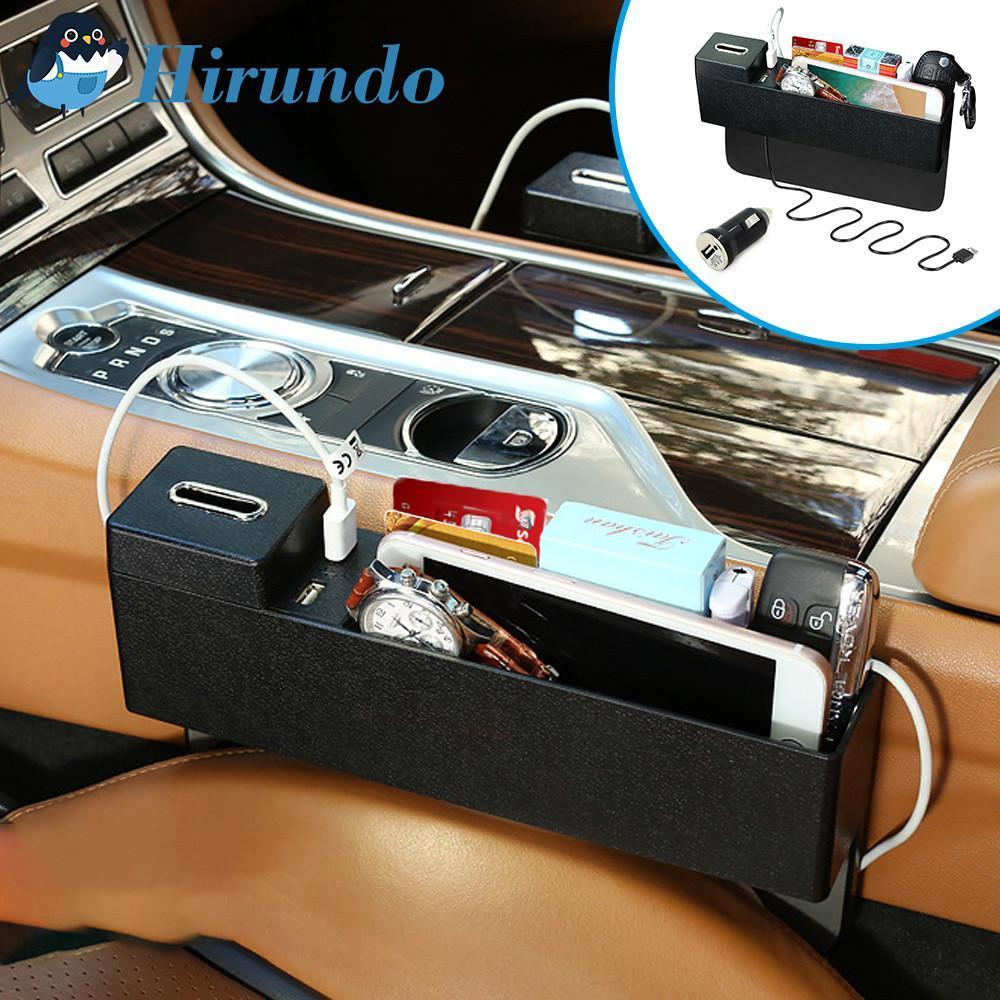 Hirundo Car Seat Crevice Storage Box