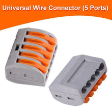 Laden Sie das Bild in den Galerie-Viewer, Universal Wire Connector (5 Ports)