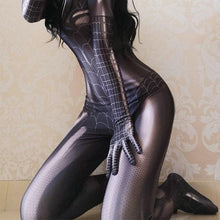 Laden Sie das Bild in den Galerie-Viewer, (Kaufen Sie 2 versandkostenfrei !!) Halloween Spider Bodysuit Dress Up
