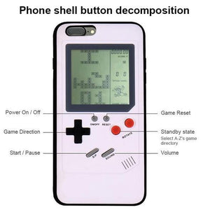 Retro Gaming iPhone Case (36 Classic Games)