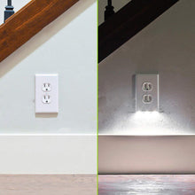Laden Sie das Bild in den Galerie-Viewer, Hirundo Outlet Wall Plate With LED Night Lights
