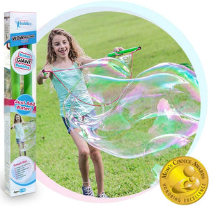 Giant Bubble Wands Kit-Outdoor Toy for Kids, Boys, Girls