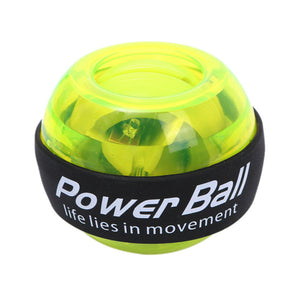Multifunctional wrist grip with lighted wrist ball
