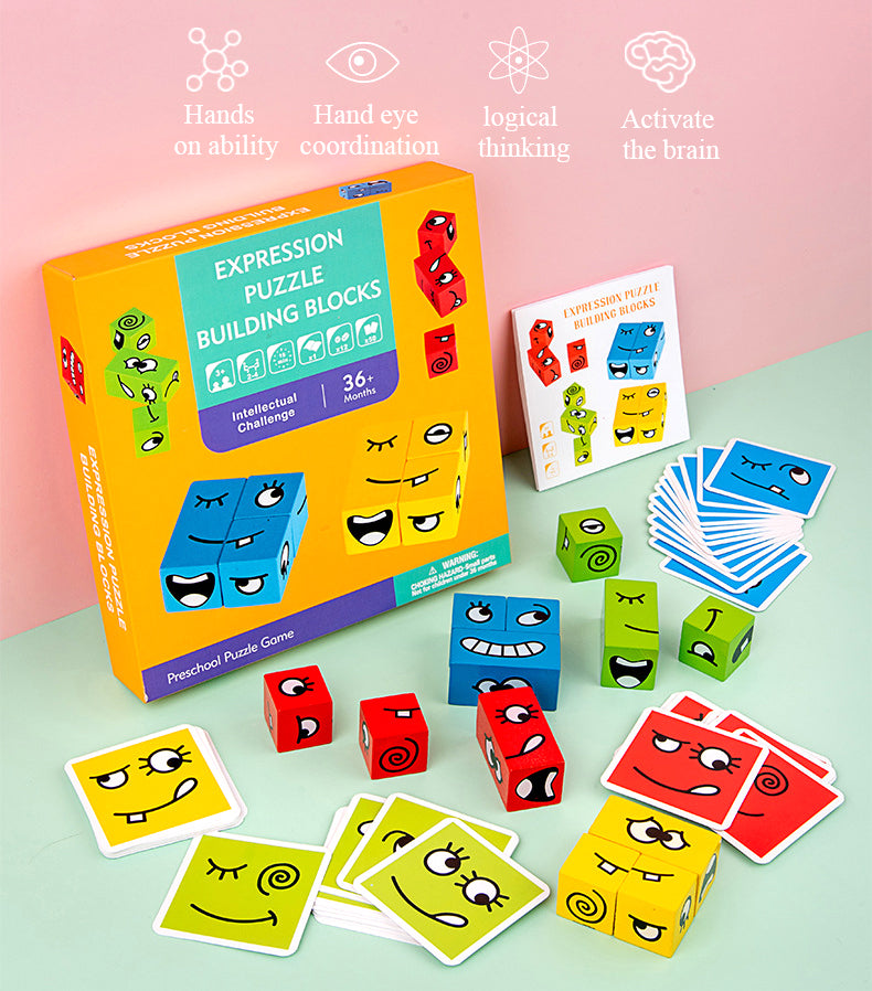 (Hot recommended)Early childhood education logic training thinking board game toy