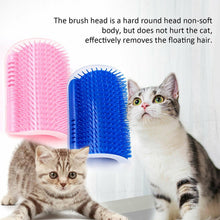 Laden Sie das Bild in den Galerie-Viewer, Cat comb massage corner brush