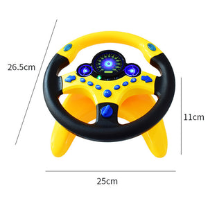 (Limited time promotion on the last 1 day💥) Baby Toys Copilot Steering Wheel