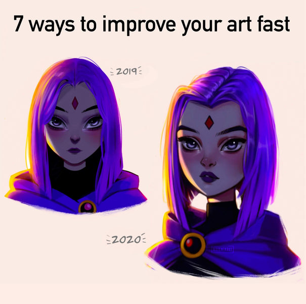 7 ways to improve your art fast