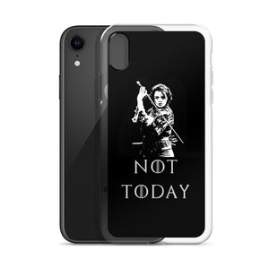 Game of thrones Arya Stark Not Today iPhone Case