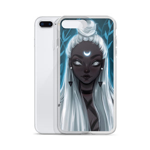 Moon Girl iPhone Case - Different sizes available