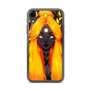 Sun Girl iPhone Case - different sizes available
