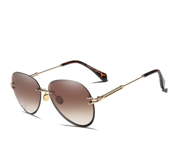 Sunset Ridge Rimless Sunglasses