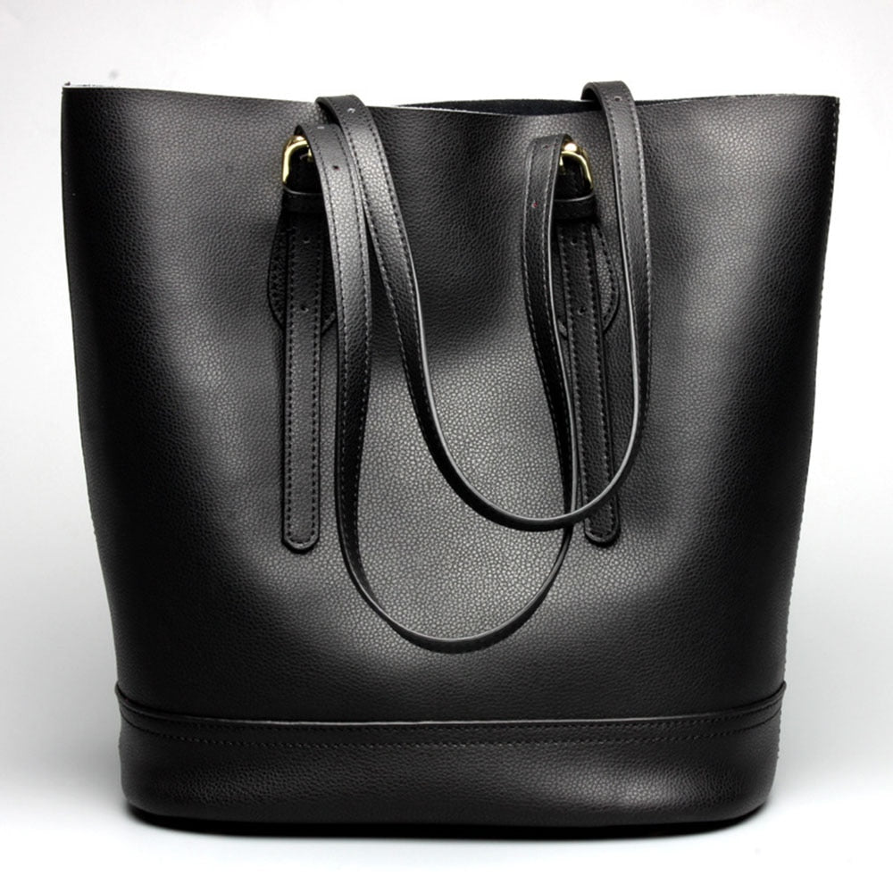 Willow Leather Tote Bag
