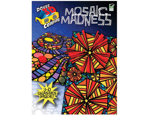 DOVER MOSAIC MADNESS COLORING BOOK