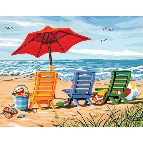 PAINTWORKS BEACH CHAIR TRIO
