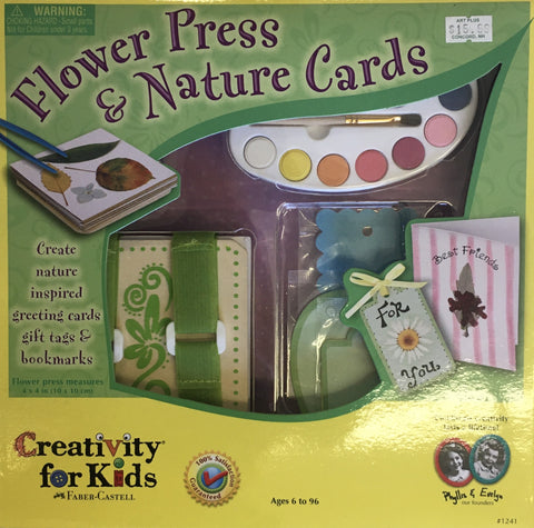 CK FLOWER PRESS AND NATURE CARDS