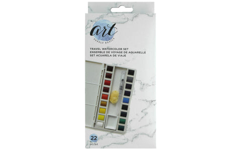AMERICAN CRAFTS TRAVEL WATERCOLOR SET
