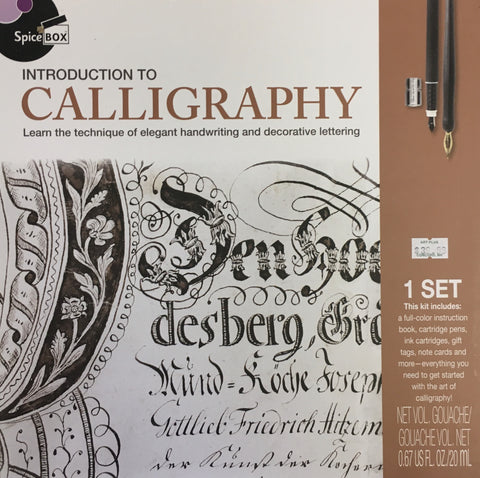 SPICE BOX INTRO TO CALLIGRAPHY
