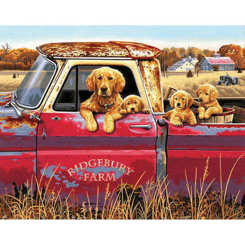 PAINTWORKS GOLDEN RIDE 16X20