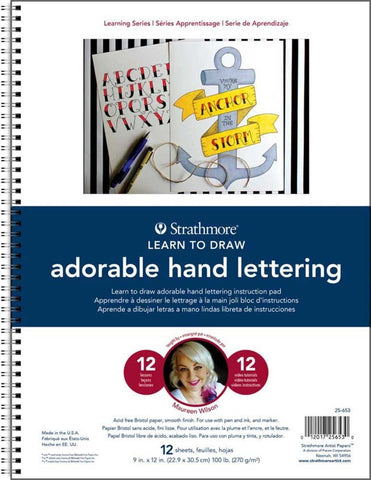 STRATH LEARN TO DRAW ADORABLE HAND LETTERING