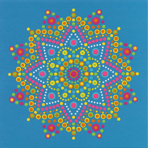 DIMENSIONS LOTS OF DOTS MANDALA DOT PAINTING KIT