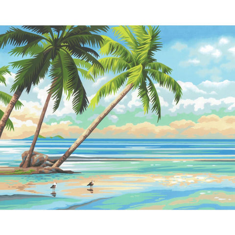 PAINTWORKS TROPICAL VIEW 11X14
