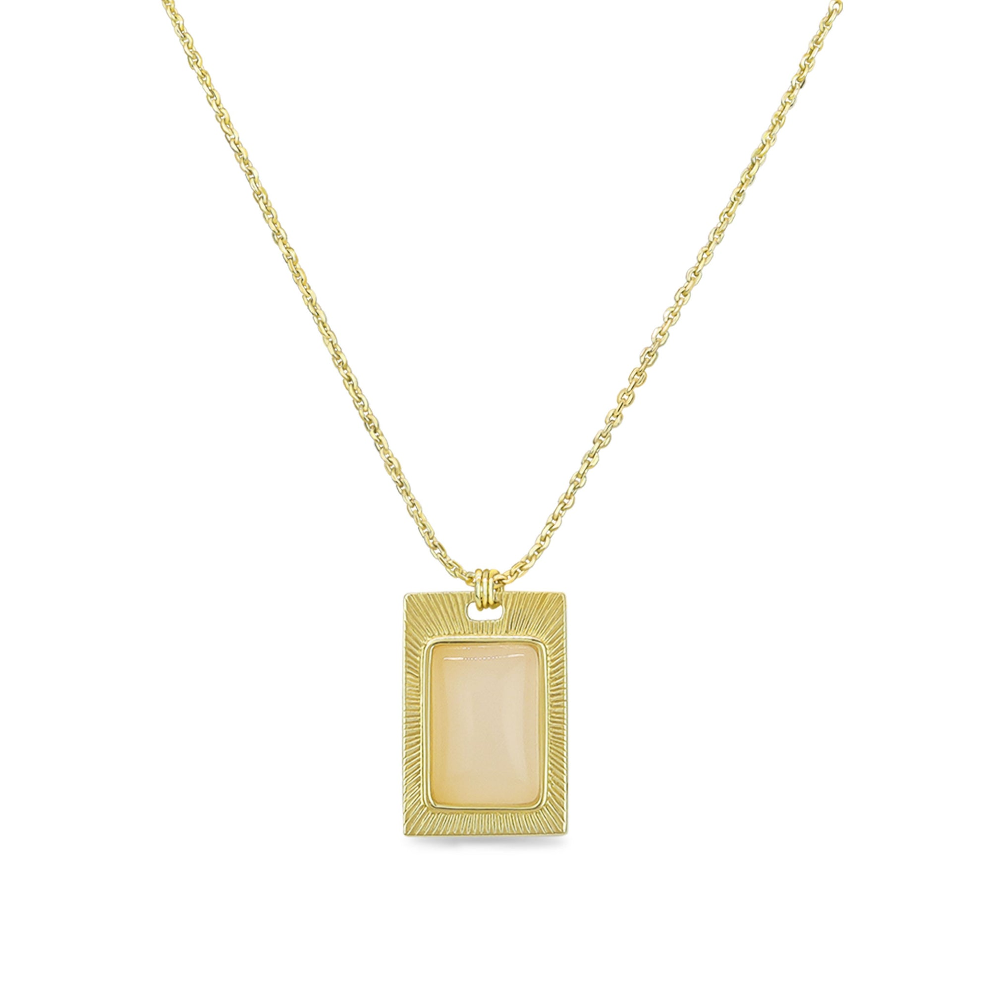 Capitola Milky Necklace - Evertess Jewelry