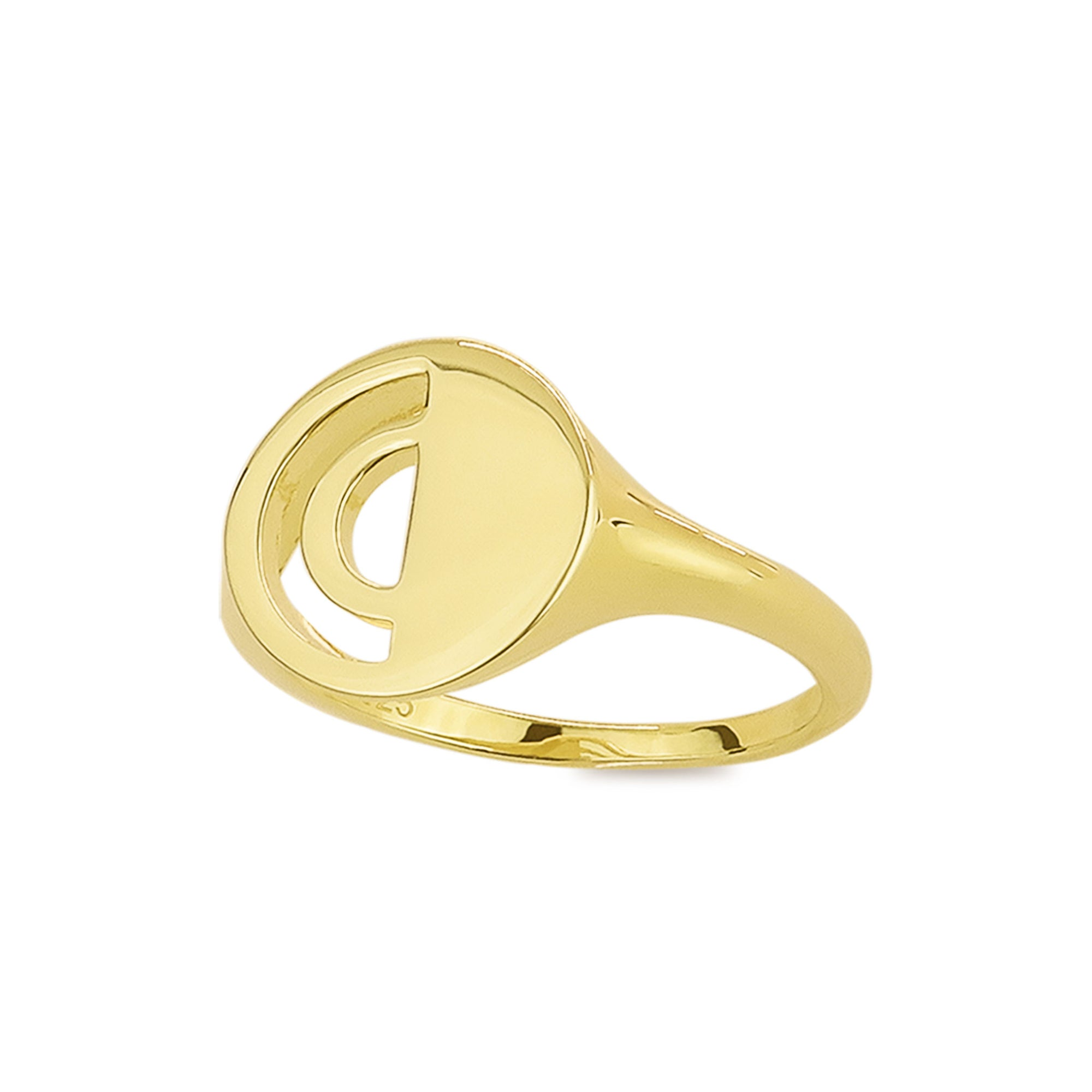 Pacifica Cut Out Signet Ring - Evertess Jewelry