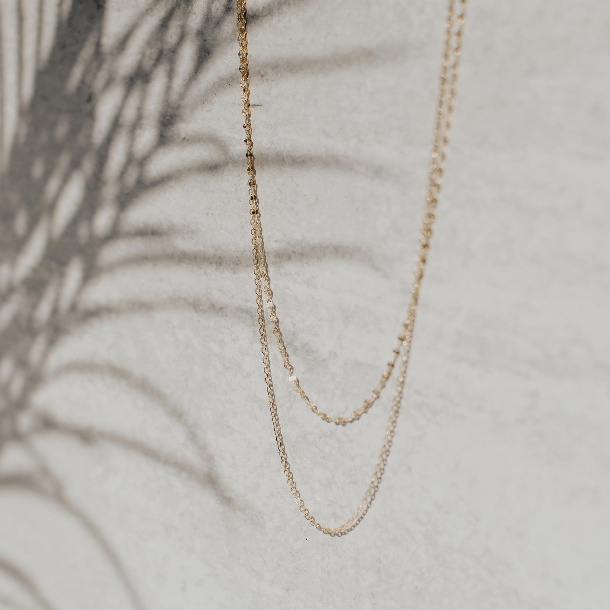 Seaside Dainty Chain Necklace - Evertess Jewelry