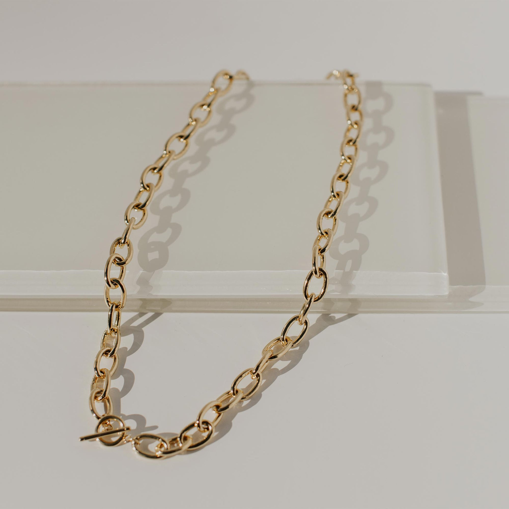 Stinson Chunky Chain Necklace - Evertess Jewelry