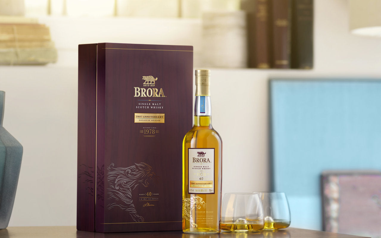 Brora 40 Year Old - 200th Anniversary Edition