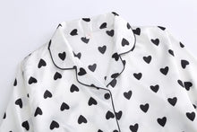 Load image into Gallery viewer, Heart Print Pajamas 7 pieces set