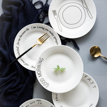 Load image into Gallery viewer, Cute Breakfast Porcelain Plate and Mug