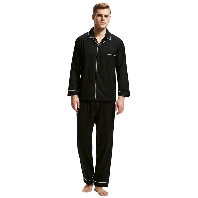 100% Cotton Men's Classic Pajamas